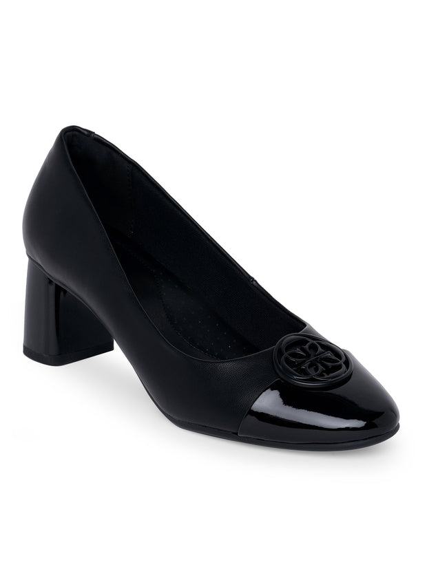 Holly Black Pumps