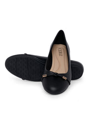 Doreen Black Ballerinas