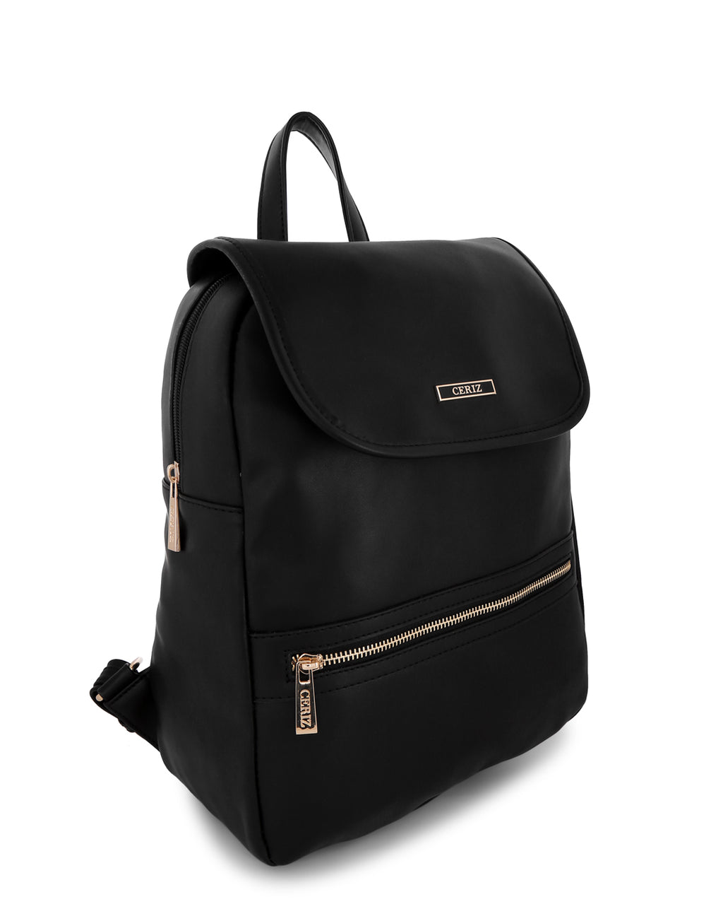 Parthenia Chic Black Backpack
