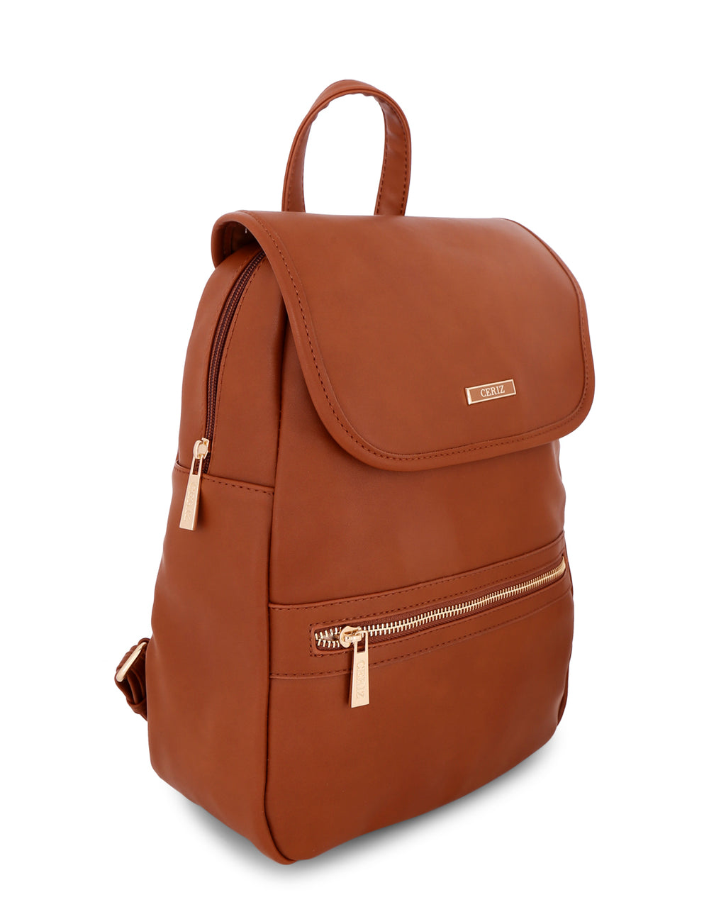 Parthenia Chic Tan Backpack