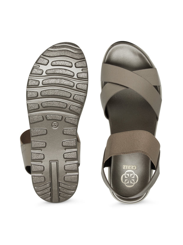 Urilla Pewter Comfort Sandals