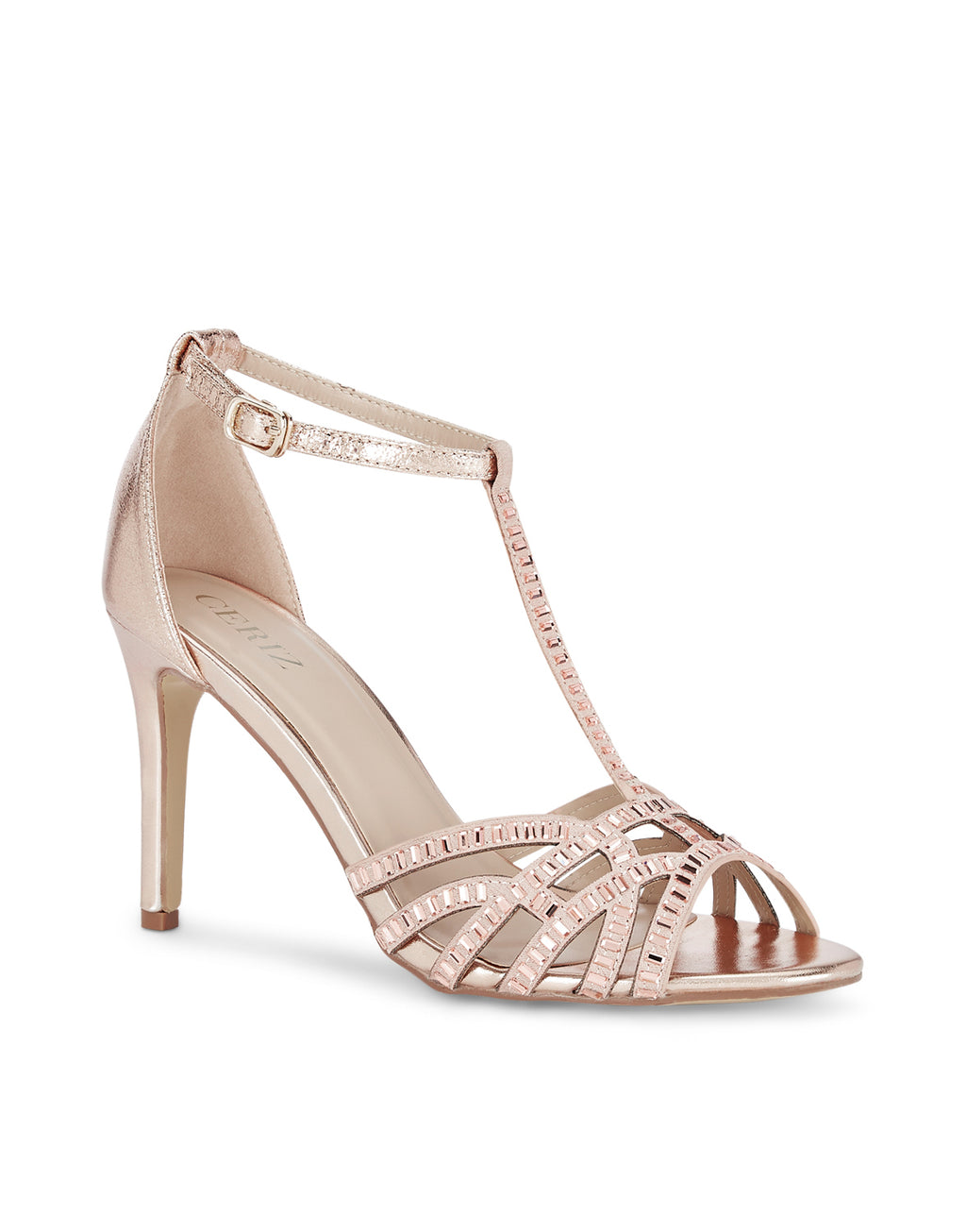Holly Stiletto Champagne Sandals