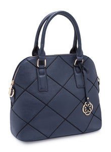 Saffiana Quilted Shoulder Bag
