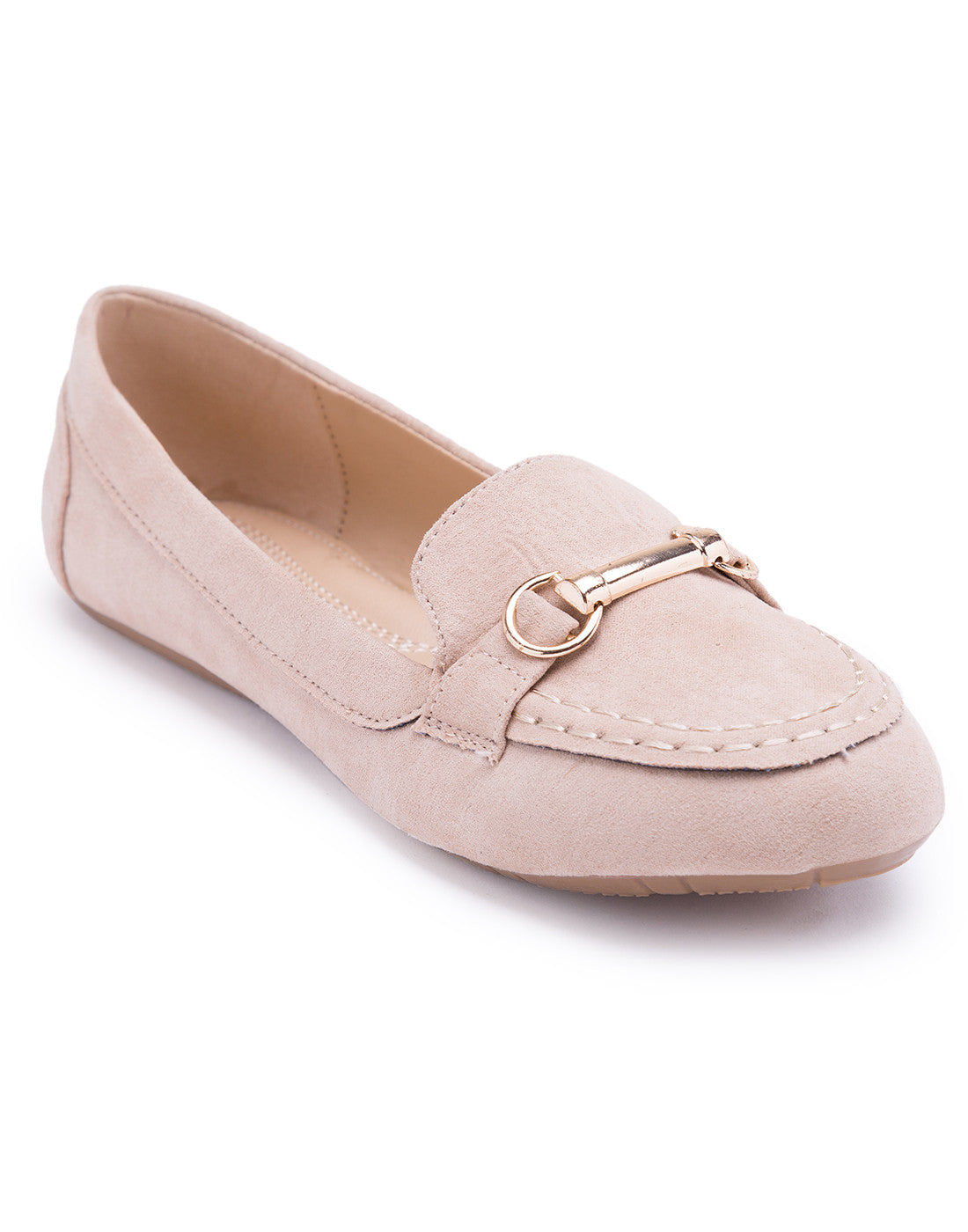 Trapeze Loafer Flat
