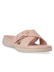 Cyrille Pink Casual Sandals
