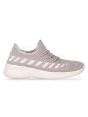 Oceane Fly Knit Grey Sneakers