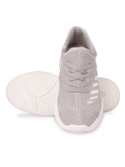 Oceane Fly Knit Grey Sneakers 5