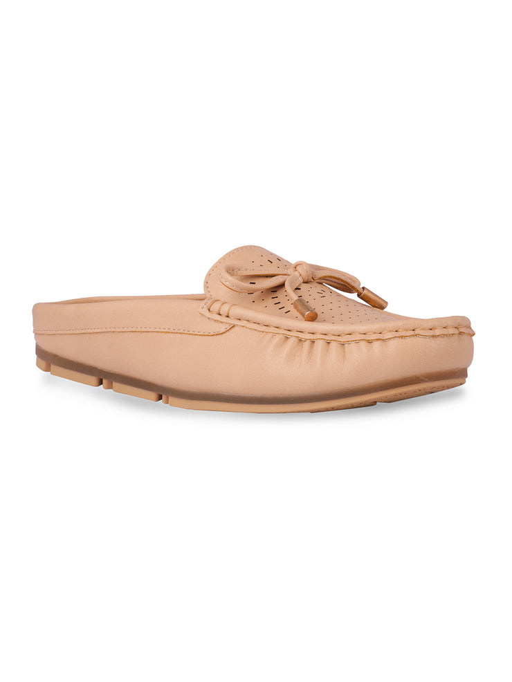 Stephanie Slip-on Beige Loafers