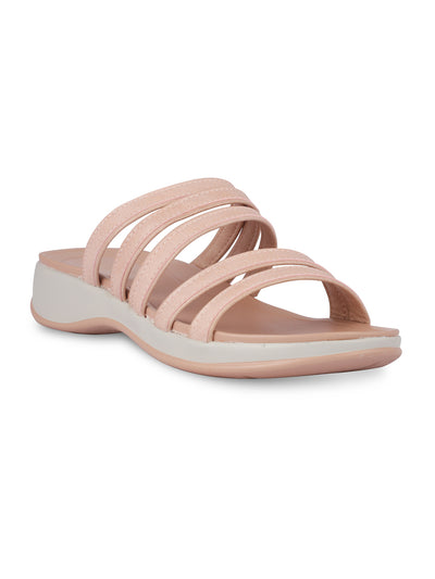 Noely Pink Casual Sandals