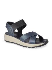 Maelys Navy Comfort Sandals