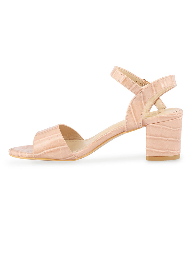 Kate Open Toe Light Pink Sandals 2