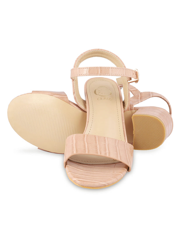 Kate Open Toe Light Pink Sandals 4