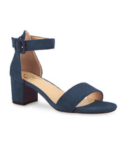 Alison Open Toe Navy Sandals