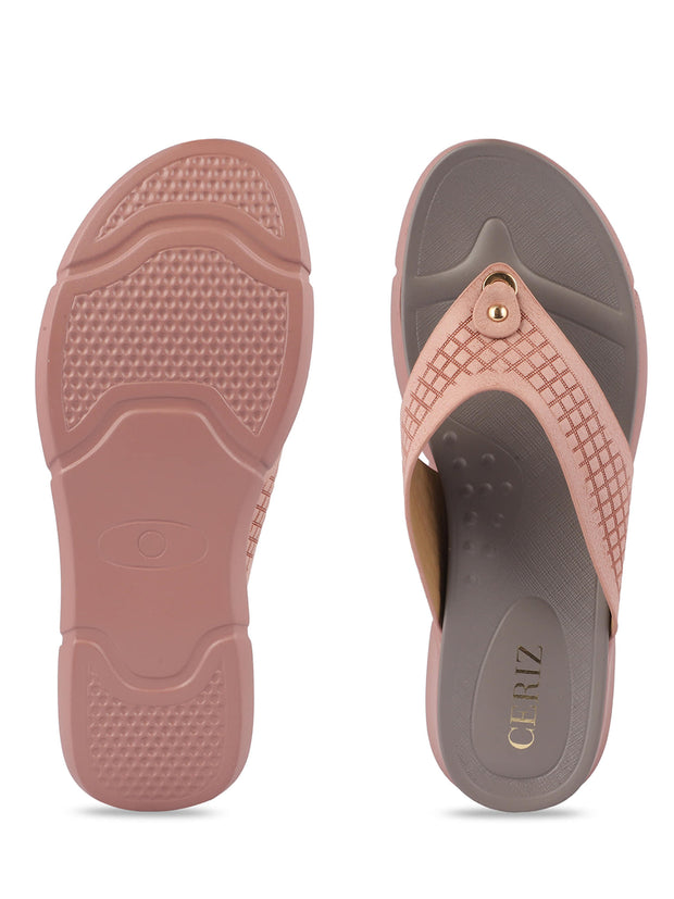 Kimberley Pink Casual Sandals 4