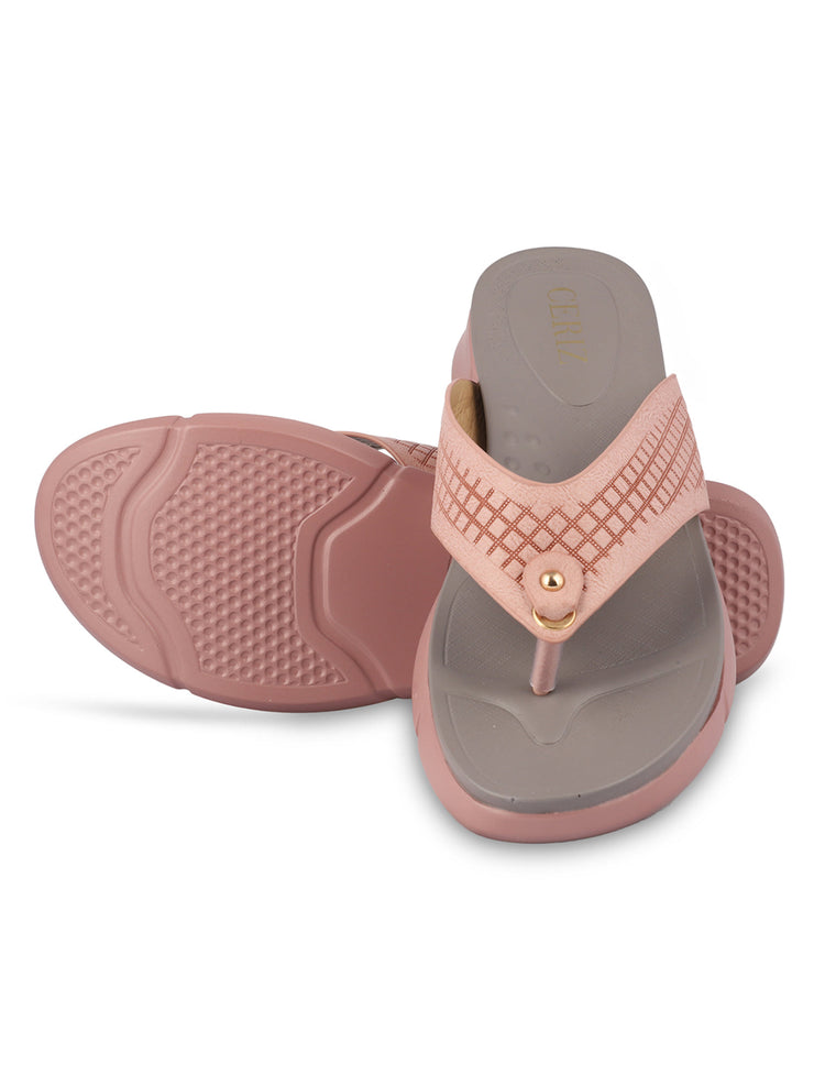 Kimberley Pink Casual Sandals 5