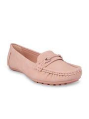 Floriane Pretty Pink Loafers