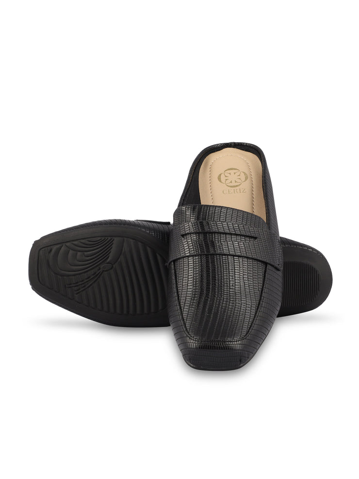 Martine Slip-on Black Loafers 5