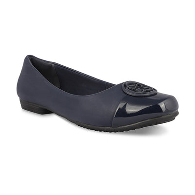 Trinique Navy Formal Ballerinas