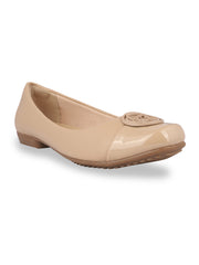 Trinique Nude Formal Ballerinas
