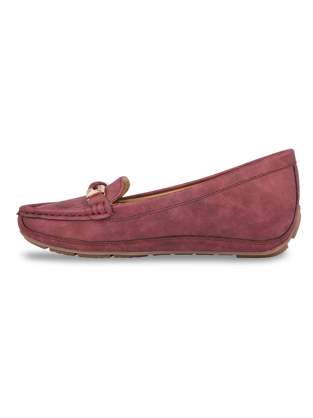 Delacroix Classic Burgundy Loafers 2