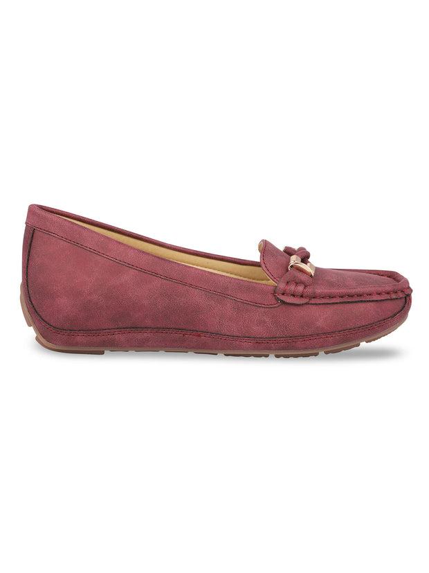 Delacroix Classic Burgundy Loafers 1