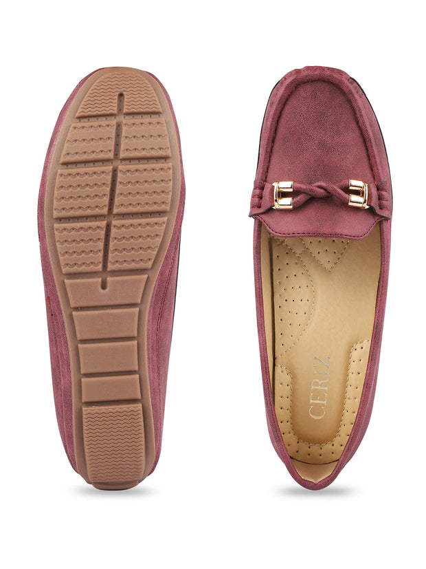 Delacroix Classic Burgundy Loafers 4