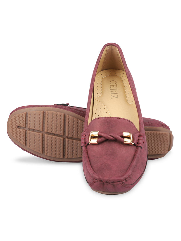 Delacroix Classic Burgundy Loafers 5