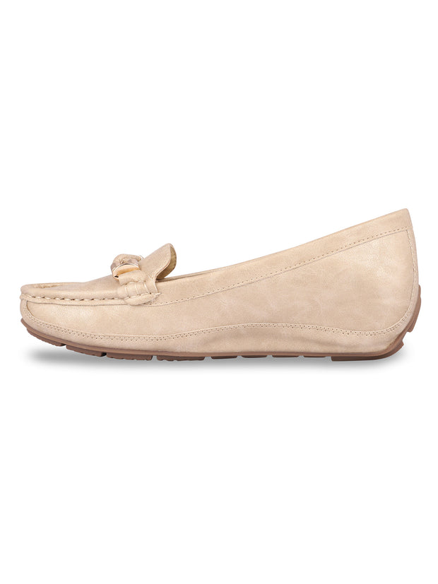 Delacroix Classic Beige Loafers 2
