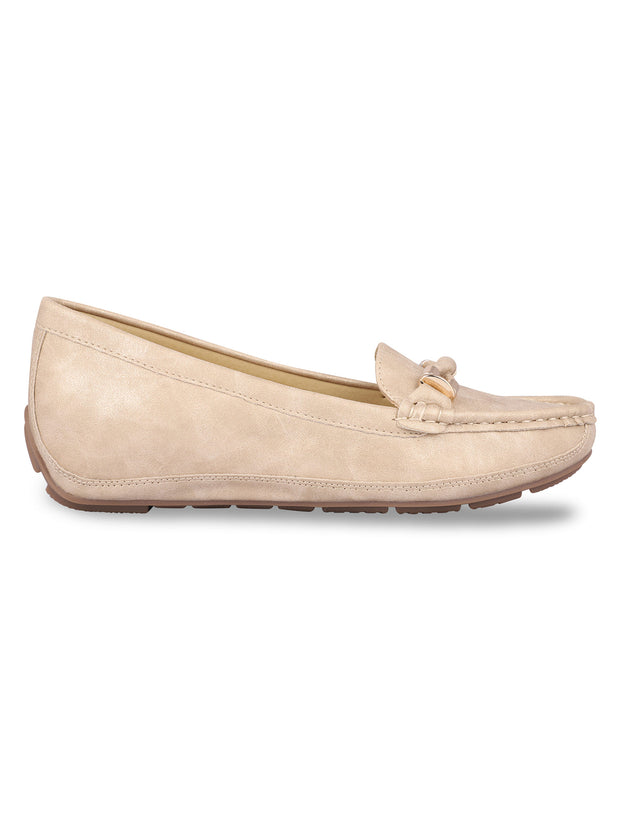 Delacroix Classic Beige Loafers 1