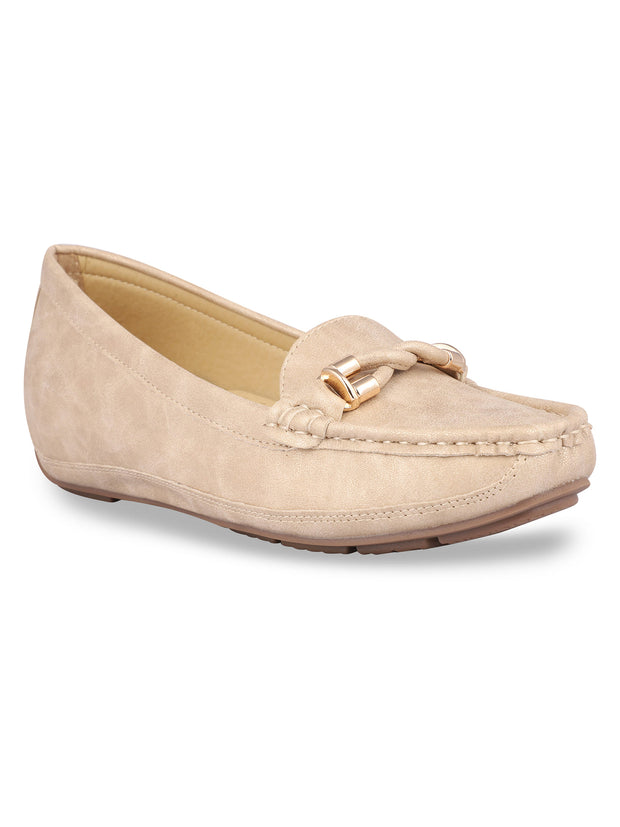 Delacroix Classic Beige Loafers