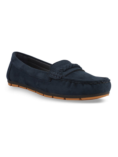Fayette Navy Loafers