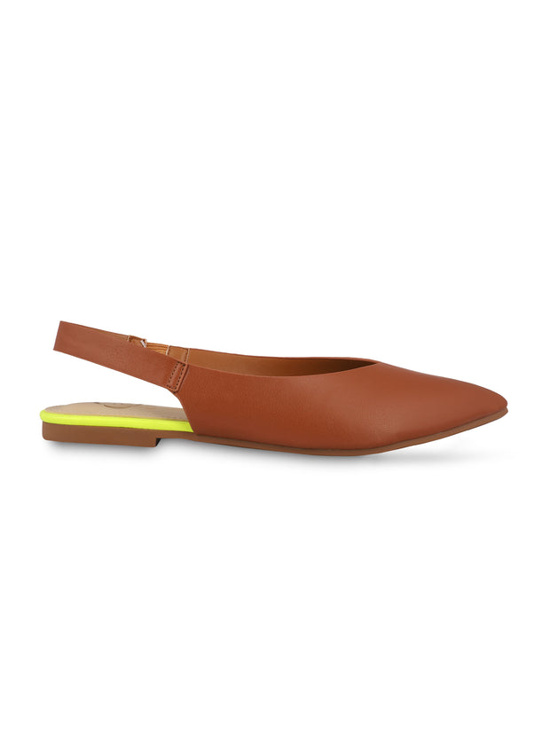 Kate Tan Slingback Ballerinas 1