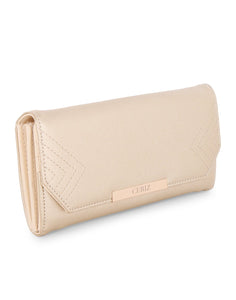 Alivia Gold Geometric Wallet