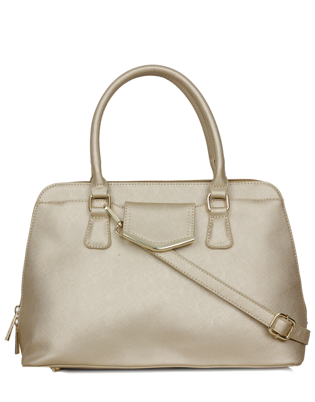Clarkia Solid Convertible Handbag