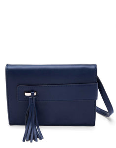 Navy Blue Sling bag with Tassel