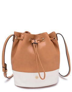 Tan Drawstring Bag