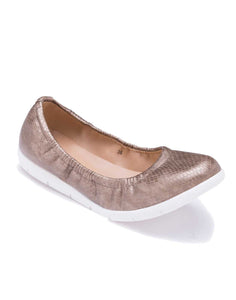 Pewter Roll-up Ballerinas