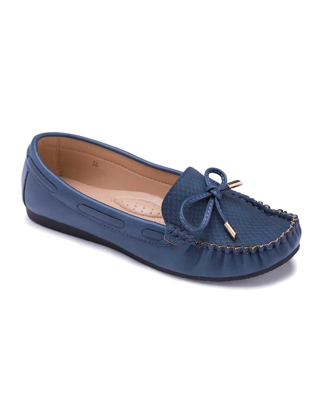 Classic Navy Blue Loafers