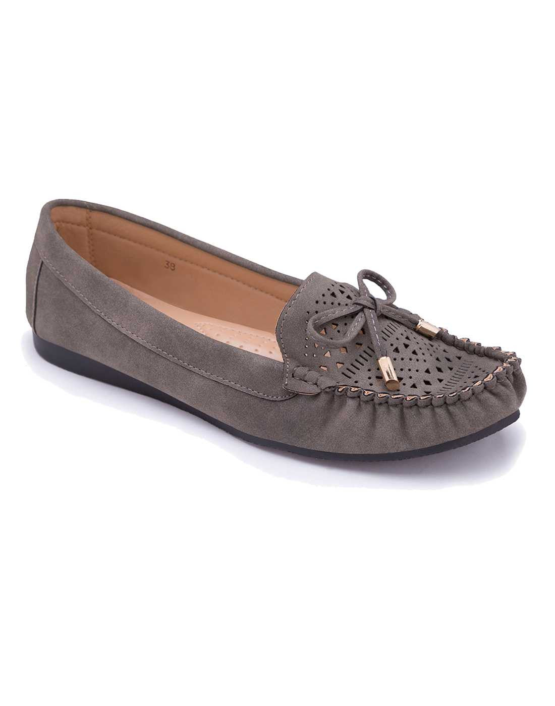 Classic Taupe Loafers