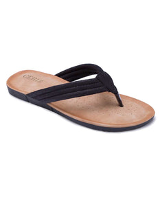 Black Open Sandal