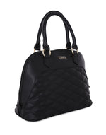 Aquila Black Quilted Handbag