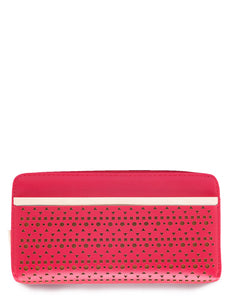 Red Wallet with Laser Cut Design Online