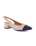 Sedna Pointed Toe Sling Back Pumps