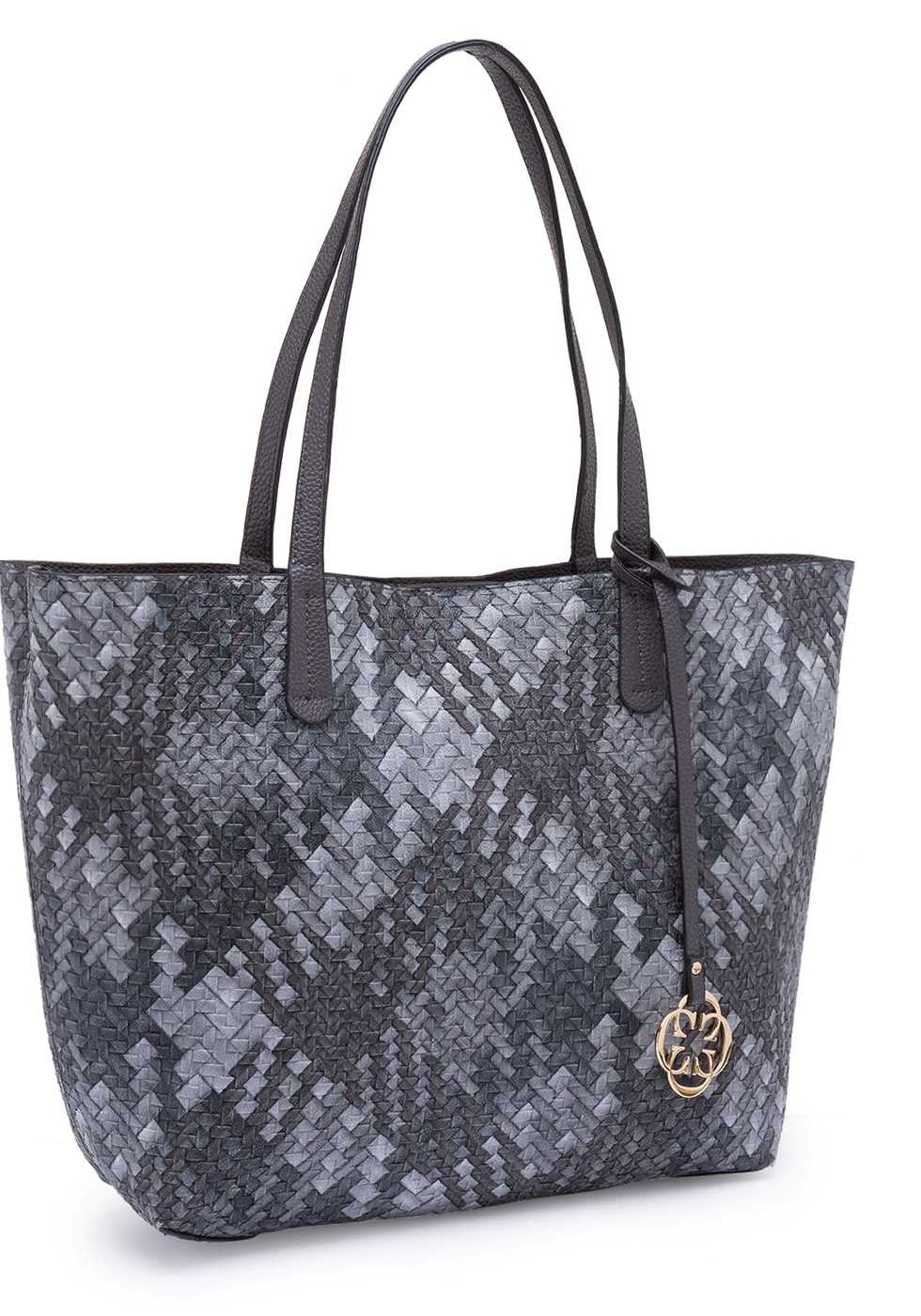 Basilio Embellished Tote Bag