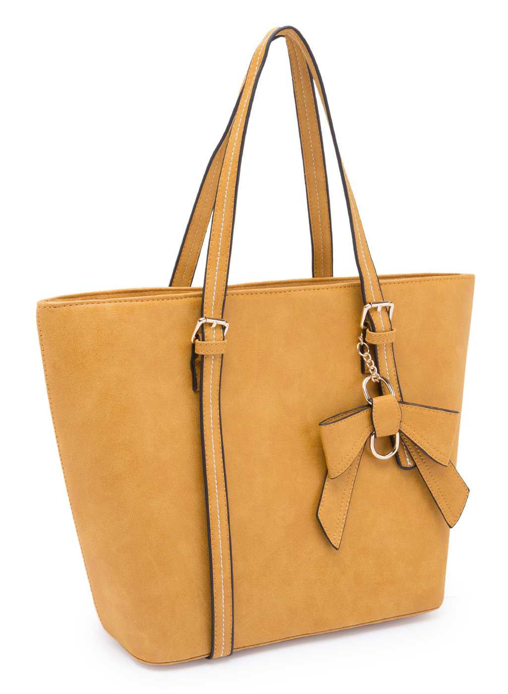 Clover Bow Tote Bag
