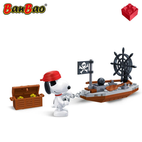 Snoopy Piratenbootje