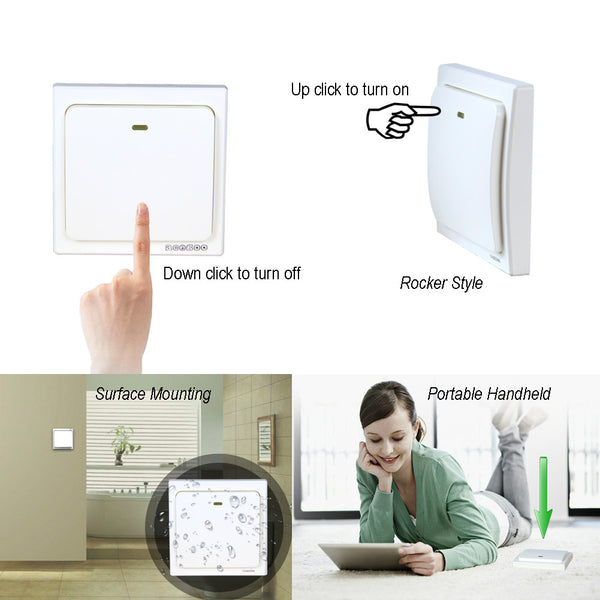 Acegoo Wireless Wall Switch  Self