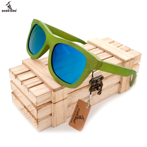 Funky Bamboo Wooden Sunglasses