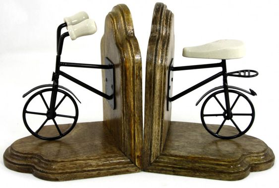 Bicycle Bookend