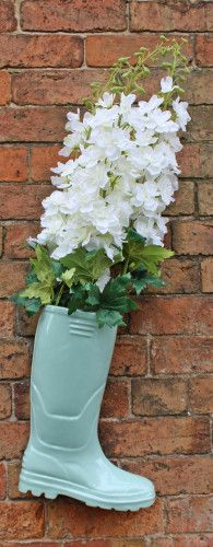 wellington boot planter